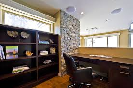 wall pictures for office. stone wall architectural feature for the mezzanine level home office design begrand fast pictures