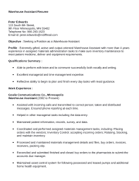 sample warehouse assistant resume   qisra my doctor says     resume    warehouse assistant resume s lewesmr