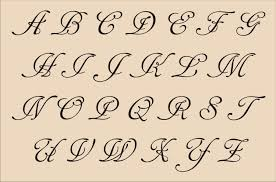 fancy cursive handwriting fancy cursive capital letters loyalty fancy cursive tattoo style
