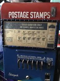 Stamp Vending Machine Location Stunning OLD SCHERMACK PROD Detroit 48 48 Cent Stamp Vending Machine Double