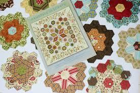 Paper Piecing Flower Flower Garden Update English Paper Piecing Quilt The Little