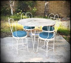 white iron patio furniture. Modren Patio Bookcase Stunning White Metal Patio Furniture 29 Fascinating Vintage  High Quality Tubular Steel Frame Chairs With And Iron V