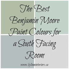 North Facing Living Room Colour The Best Benjamin Moore Paint Colours For A South Facing
