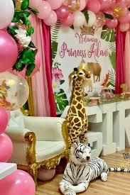 princess safari baby shower party ideas