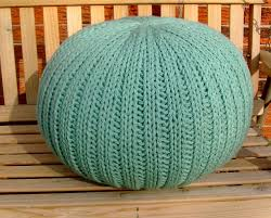 Knitted Pouf Pattern Free Uk
