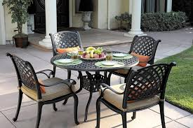 patio garden Cast Aluminum Patio Furniture At Lowes Aluminum