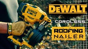 dewalt dcn45rnd cordless coil roofing