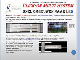Click On Multi System Ontdek Het Nieuwe Unieke Led Montage Systeem