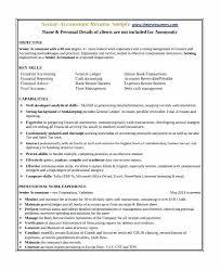 Senior Accountant Resume Best Of Sample Resume Of A Cpa For Best Senior Accountant Resume