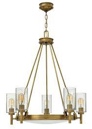 hinkley lighting 3385hb chandelier collier