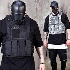 Bullet Proof Vest Rating Chart Techwear Tactical Slim Vest 104
