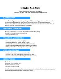 Sample Resume Format Word Template Sample Format Of Certificate Of