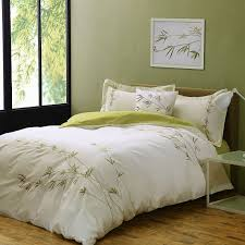find more bedding sets information about embroidery green bamboo cotton beding sets 4pc queen king