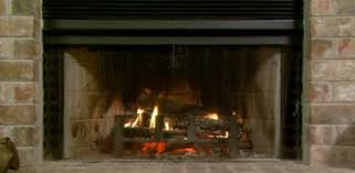 wood burning fireplace with blower for extracting and circulating heat
