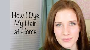How I Dye My Hair At