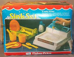 918 fisher price sink set
