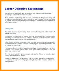 Career Objective For Resume Career Objectives And Goals Career Goal Examples Career Objective 72