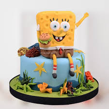 Spongebob Cake 9 Birthday Cakes In Abu Dhabi Wedding Cakes In