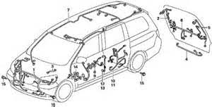 wiring diagram for honda odyssey wiring wiring diagrams online