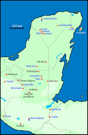 history of the ancient maya Mayan Cities Map (the maya and mayanists now use a new orthography, which is somewhat different from the traditional *) there is an explanation about the origin of some mayan city map