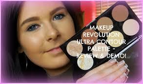 review demo makeup revolution ultra contour palette abbiewilloughby you