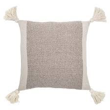 tassel throw pillow. Modren Throw Taupe Tassel Throw Pillow With R
