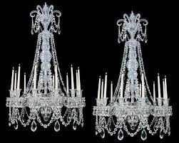 a fine quality pair of mid victorian antique chandeliers attributed to f c osler