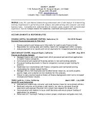 Credit analyst resume and get ideas to create your resume with the best way  19