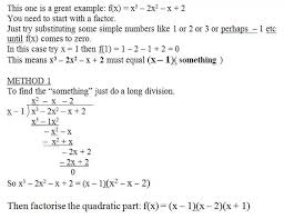 How To Factor A Cubic What Is The Process Of Factoring A Cubic Function Quora