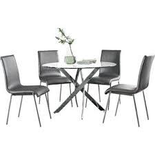 modern dining room table set. oradell 5 piece dining set modern room table