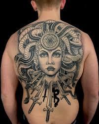 Medusa Gorgona Tattoo Medusa Tattoo