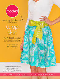 Wrap Skirt Pattern Gorgeous Wrap Skirt Sewing Pattern