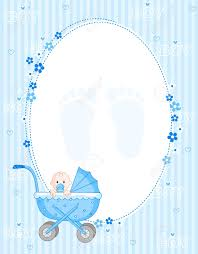 Card For Baby Boy Baby Boy Arrival Card Party Invitation