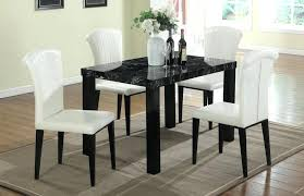 marble top dining table set beautiful faux marble top dining set 1 table 4 chairs faux