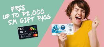 You can now pay using mastercard or visa debit card, unionbank, bancnet atm cards and bpi account when paying for your home credit … Free Sm Gift Pass For Select Shopmore And Standard Mastercard Home