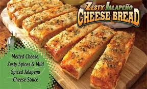 Little Caesars Zesty Jalapeno Cheese Bread Fast Food Yunkie In