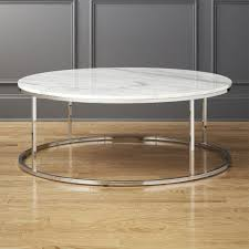 smart large round marble top coffee table