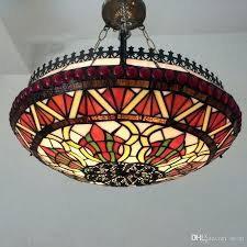 stained glass light bulbs stained glass pendant lamps style glass lamp for living room baroque glass