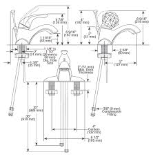 view detailed faucet dimensions