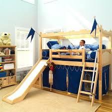 7 knights castle w slide curtain slide for loft bed 7 knights castle w slide curtain primary colors tent loft bunk bed fort with slide