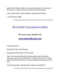 SEC 420 Str Teaching Effectively--tutorialrank.com by ...