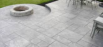 stamped concrete aesthetic appeal zoom in