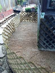 patio potty for dogs new build an outdoor dog area and save your grass from diy dog patio potty that drains for cleaning perfect area diy