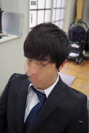 メンズカットメンズヘア就活ヘアの長めってこれくらい 武蔵野台駅