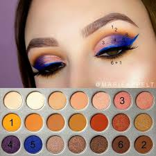 jaclyn hill x morphe palette yt marie appelt insram marieappelt how to makeup tutorial look beginners step by step pictorial