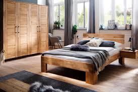 Schlafzimmer Massivholz Zent Wildeiche Geölt S14m