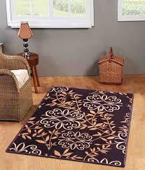 status black fl taba rug 4x6 feet