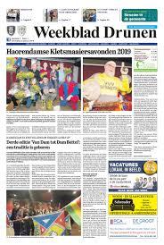 Weekblad Drunen 23 01 2019 By Uitgeverij Em De Jong Issuu