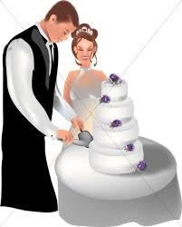 cutting the wedding cake clipart. Exellent Clipart Cake Cutting Ceremony For The Wedding Clipart D