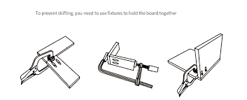 Ne Hw200 Woodwork Guide Oblique Hole Locator Positioning